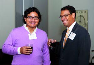 Jorge Castro '02 and Eric Defort '02