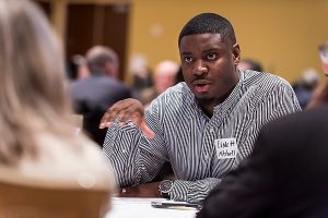 Everett Mitchell at Inclusion Forum