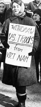"protest sign that says ""withdraw us troops from vietnam"""