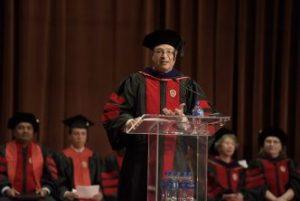 graduation speaker at 2018 uw law graduation