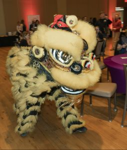 chinese dragon at LEO 50th anniversary banquet
