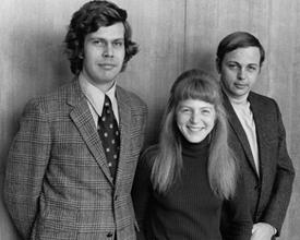 Laurie Bier and classmates