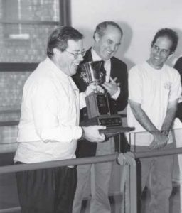 presentation of the dean cup in 1995