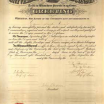 old UW diploma