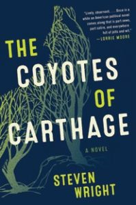 "book cover for ""the coyotes of carthage"""
