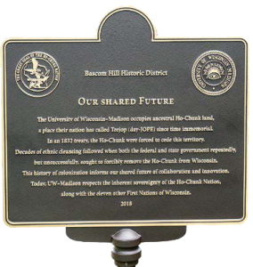 our shared future plaque png