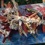 multi colored corn
